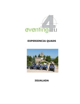 Programa - Eventing4U