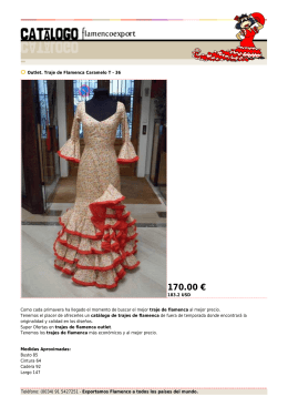 170.00 € - Flamenco Export