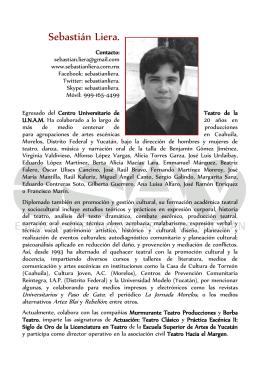 Curriculum Sebastian Liera