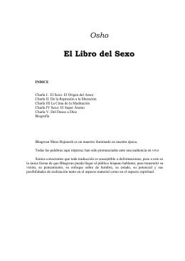 Osho - El Libro Del Sexo