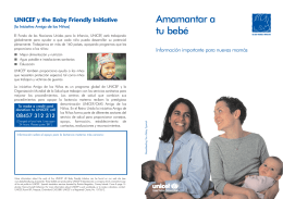 Breastfeeding your baby - Spanish (printers pairs)