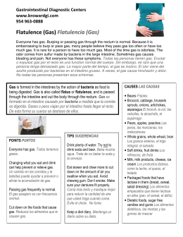 Flatulence (Gas) - Gastrointestinal Diagnostic Centers