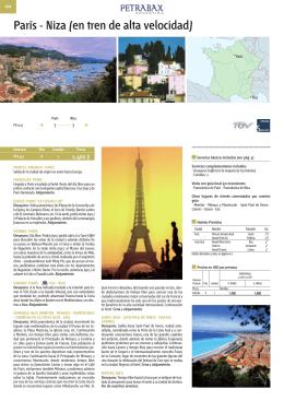 París - Niza (en tren de alta velocidad)