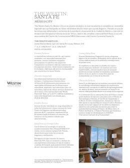 about the westin mexico services