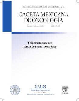 Recomendaciones en cáncer de mama metastásico