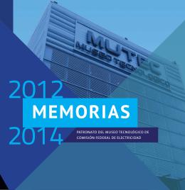 MEMORIAS - Patronato del MUTEC