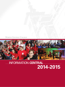 INFORMATION CENTRAL - North Central College