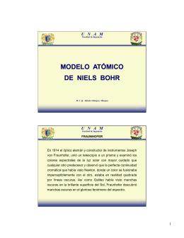 modelo atómico de niels bohr modelo atómico de niels bohr