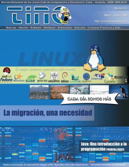 Revista Tino Número 5 - Joven Club de Computación y Electrónica