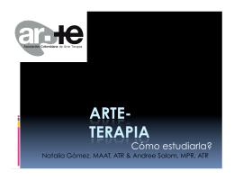 Cómo estudiarla? - Arte terapia Colombia