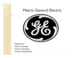 (Microsoft PowerPoint - Matriz General Electric