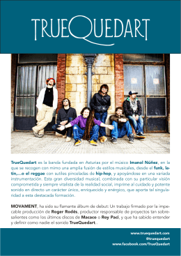 TrueQuedart es la banda fundada en Asturias por el músico Imanol