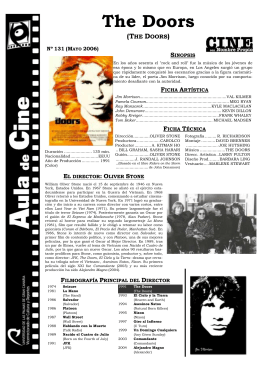 The Doors - Aula de Cine de la ULPGC