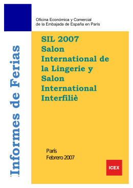 salon international de la lingerie ey interfilière 2007