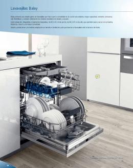 Catálogo lavavajillas Balay, 10, telf. (0034) 963 490 288