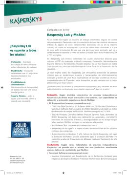 Mcafee - ATLAS Proyectos Informáticos