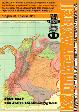 Heft 84 - Deutsch-Kolumbianischer Freundeskreis eV