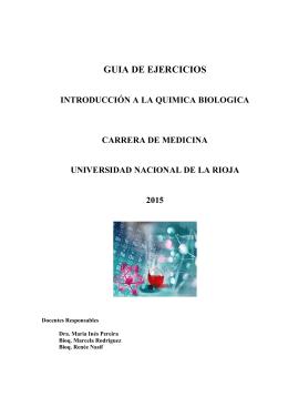 Guía de Actividades Prácticas Química 2015