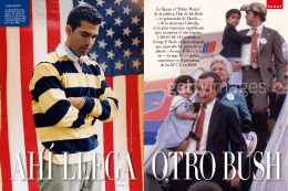 """Lo llaman el """"Ricky Martin"""" de la política. Hijo de Jeb Bush —ex"""