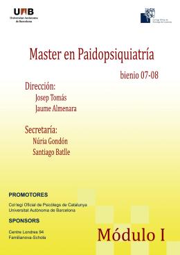 Mariemma Martínez - Portal de la Paidopsiquiatria