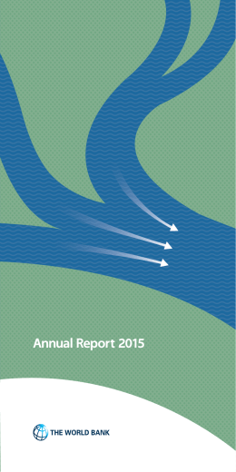 World Bank Annual Report 2015