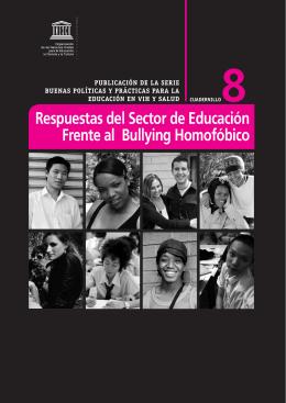 Respuestas del Sector de Educación Frente al Bullying