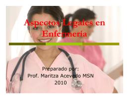 Aspectos Legales - Sistema Universitario Ana G. Méndez