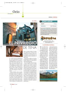 Casa El privilegio de Tena Huesca Arquitectura Pirinaica