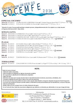 VACACIONES AMPLIACION 2014 - copia.indd