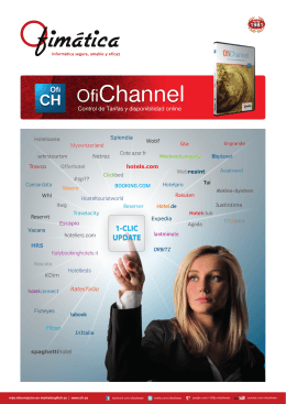 Ofimatica - OfiChannel - Hoja Producto