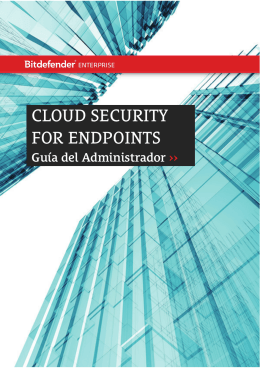 Cloud Security for Endpoints by Bitdefender