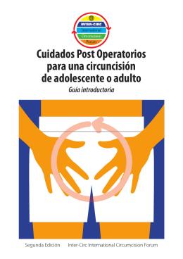 Cuidados Post Operatorios para una circuncisión de adolescente