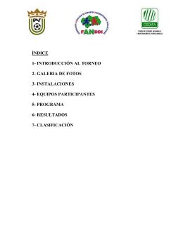 XIII Torneo - Benalmádena