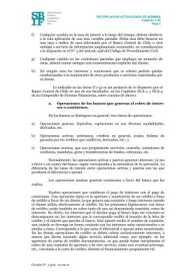 SBIF.cl - Circular N° 3.506 Bancos