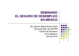 SEMINARIO EL SEGURO DE DESEMPLEO EN MÉXICO