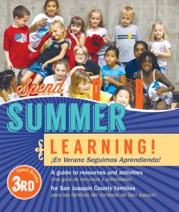 ¡En Verano Seguimos Aprendiendo!