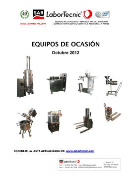 EQUIPOS DE OCASIÓN
