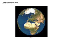 Manual del Usuario para Mapas