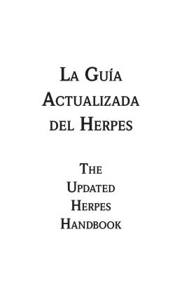 LA GUíA ACTUALIZADA DEL HERPES