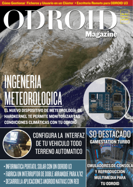 SO DESTACADO - ODROID Magazine