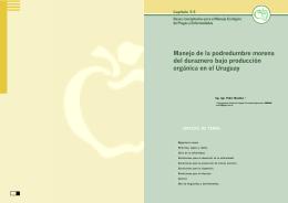 Mondino, P. 2003. Manejo de la podredumbre morena del