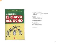 EL DIARIO DE EL CHAVO DEL OCHO D. R. @ Texto e ilustraciones
