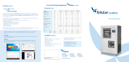 LyoBeta, R+D Freeze-Dryers - Telstar Life Science Solutions
