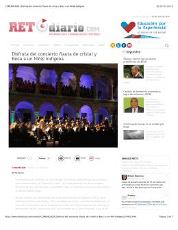 COMUNICADO-Disfruta del concierto flauta de