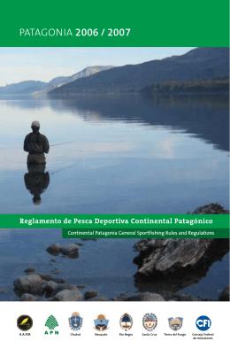 Reglamento de Pesca Patagónico 2007