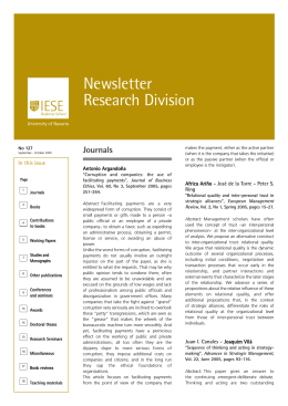 Newsletter Research Division