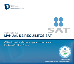 manual de requisitos sat