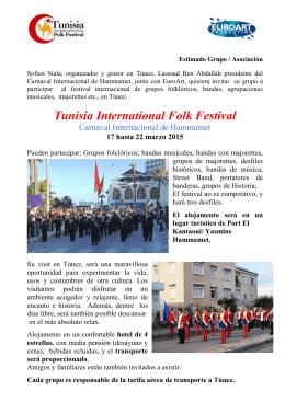 Invito Tunisia spagnolo 2015