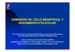 seminario 90: ciclo menstrual y seguimiento folicular.