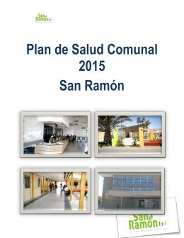 Plan de Salud Comunal 2015 San Ramón